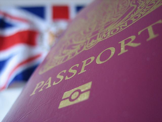 British Passport Image
